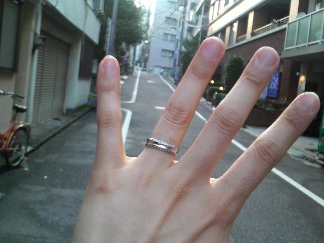 指輪のメッセージ